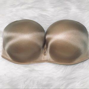 Victoria's Secret Nude strapless bra Bombshell